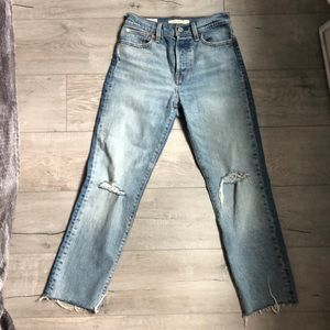 Levi's Jeans -  Wedgie Straight Fit